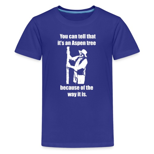 You can tell that it's an Aspen... Kids' T-shirt - Kids' Premium T-Shirt