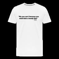 T-Shirts ~ Men's Premium T-Shirt ~ CoCo quote - bondy fish