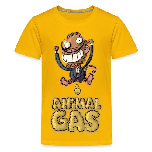 Kids Animal Gas Monkey - Kids' Premium T-Shirt
