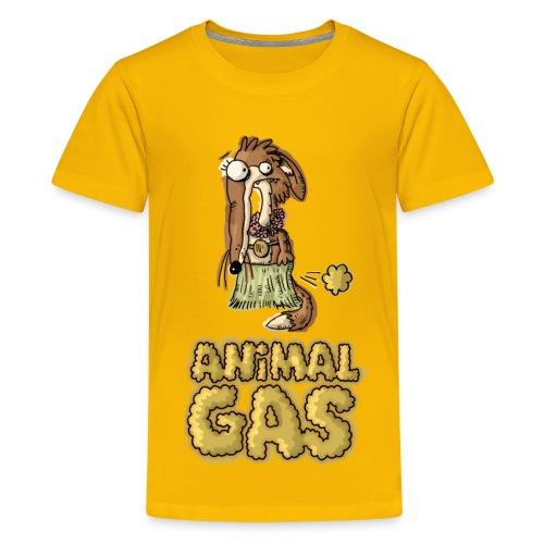 Kids Animal Gas Fox - Kids' Premium T-Shirt