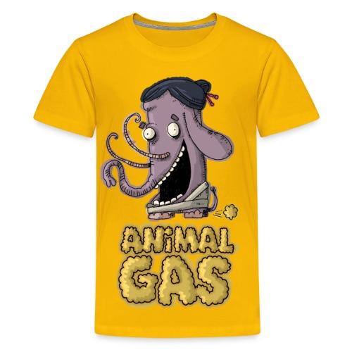 Kids Animal Gas Elephant - Kids' Premium T-Shirt