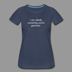 Silent Correction - Women's Premium T-Shirt