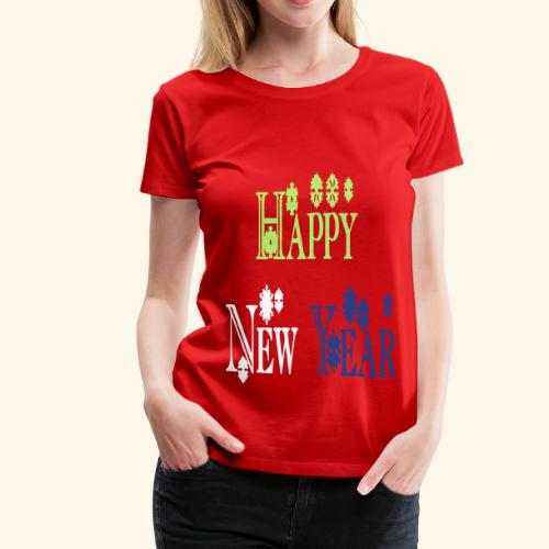 Happy New Year 2014 - Women's Premium T-Shirt