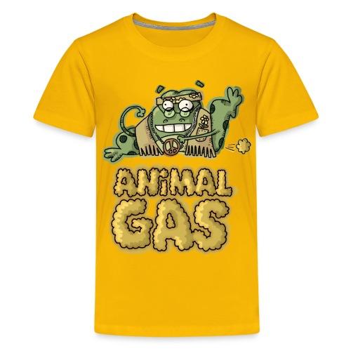 Kids Animal Gas Frog - Kids' Premium T-Shirt