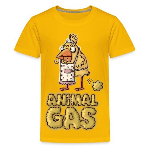 Kids Animal Gas Bird - Kids' Premium T-Shirt
