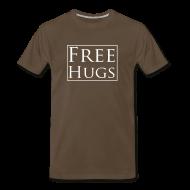T-Shirts ~ Men's Premium T-Shirt ~ Free Hugs t-shirt