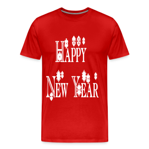 Happy New Year 2014 - Men's Premium T-Shirt