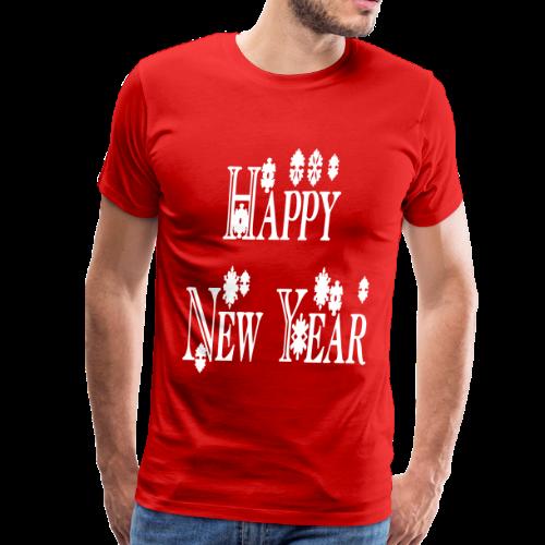 Happy New Year 2014 - Men's Premium T-Shirt