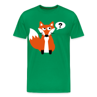 T-Shirts ~ Men's Premium T-Shirt ~ What Does The Fox Say Big Tee