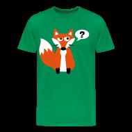 T-Shirts ~ Men's Premium T-Shirt ~ What Does The Fox Say Big Tee