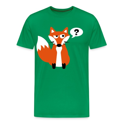 What Does The Fox Say Big Tee - Men's Premium T-Shirt