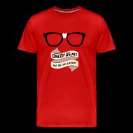 T-Shirts ~ Men's Premium T-Shirt ~ One Of Us Put On The Glasses