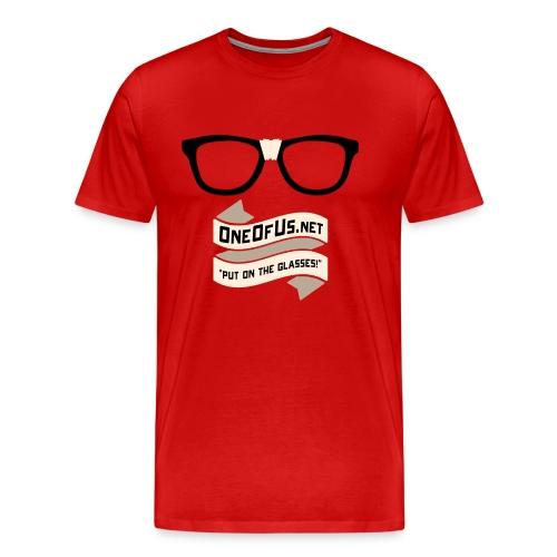 One Of Us Put On The Glasses - Men's Premium T-Shirt