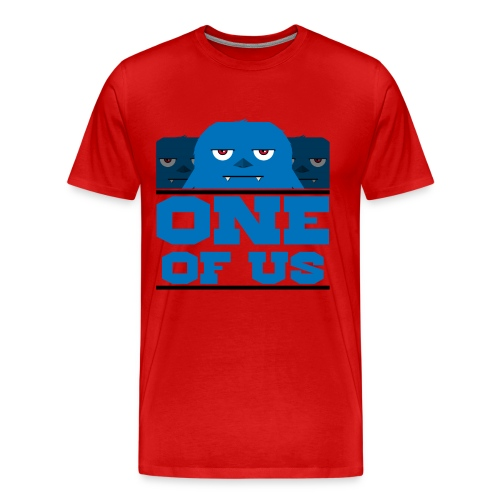 One Of Us Monsters - Men's Premium T-Shirt