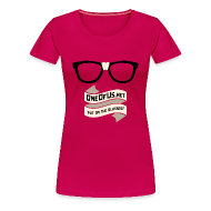 T-Shirts ~ Women's Premium T-Shirt ~ One Of Us Put On The Glasses