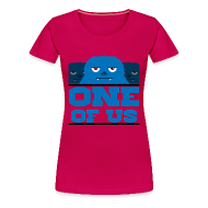 T-Shirts ~ Women's Premium T-Shirt ~ One Of Us Monsters