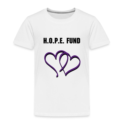 Toddler's HOPE T-shirt - White - Toddler Premium T-Shirt