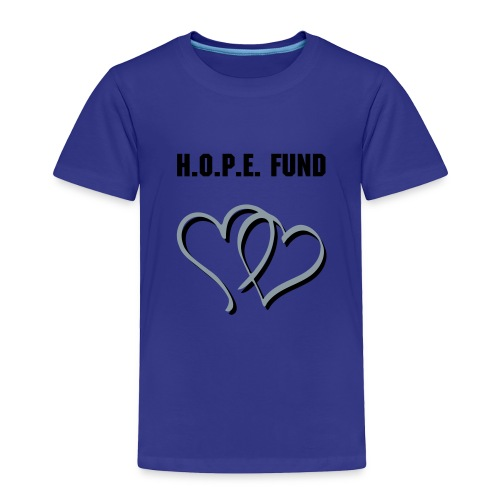 Toddler's HOPE T-shirt - Blue - Toddler Premium T-Shirt