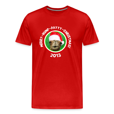 Merry Hump Day Christmas Camel 2013 T-shirt