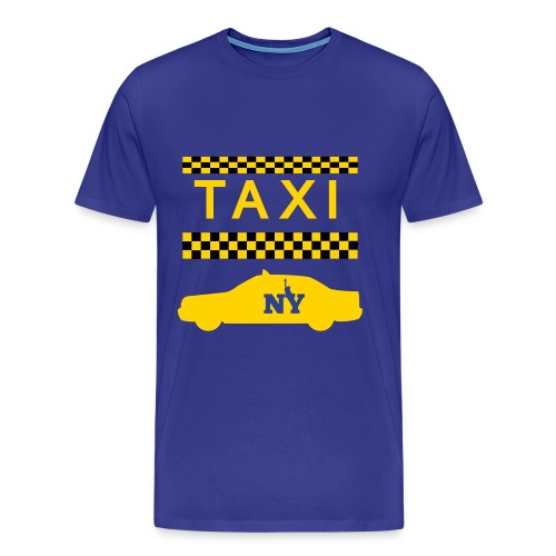 Taxi New York - Men's Premium T-Shirt