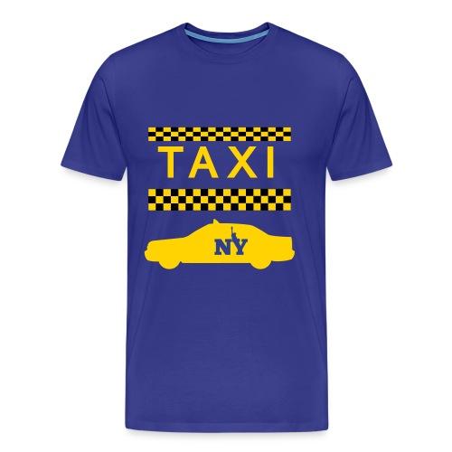 Taxi New York - Men's Premium T-Shirt