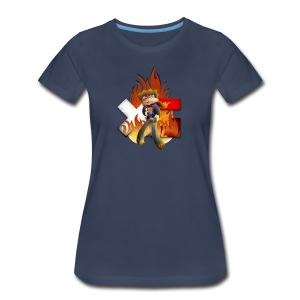 Women's XerainGaming Fire Dan T-Shirt - Women's Premium T-Shirt