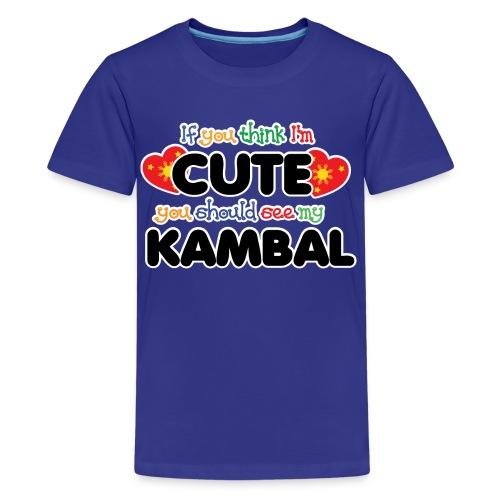 Cute Kambal - Kids' Premium T-Shirt