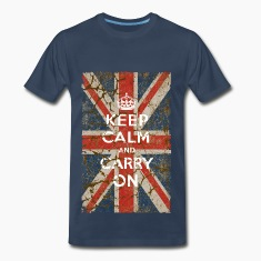 UK Flag and Keep Calm, Hybrid