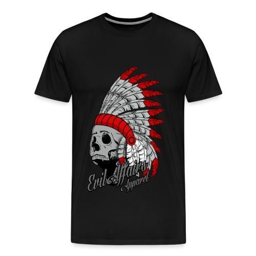 3xl - 4xl indian skull - Men's Premium T-Shirt