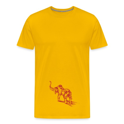 Red Elepant Warrior - Men's Premium T-Shirt