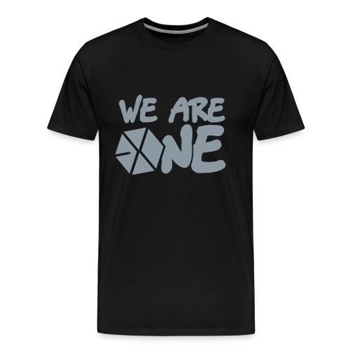 EXO - We Are One (Silver Flex Print) [Men's Shirt] - Men's Premium T-Shirt