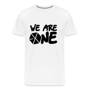 EXO - We Are One (Black Flex Print) [Men's Shirt] - Men's Premium T-Shirt
