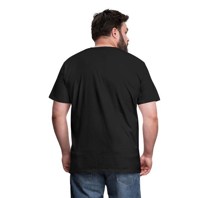 Mens Live Disc Golf Shirt - White Print
