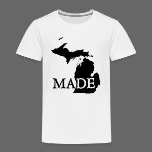 Michigan Made - Toddler Premium T-Shirt