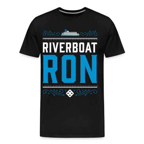 Riverboat Ron Men's T-Shirt 3XL & 4XL - Men's Premium T-Shirt