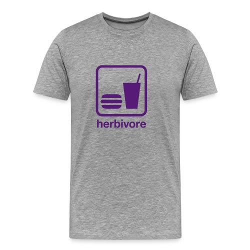 Food & Drink: Herbivore - Men's Premium T-Shirt