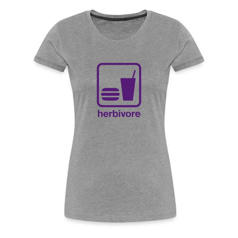 Food & Drink: Herbivore - Women's Premium T-Shirt