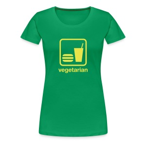 Food & Drink: Vegetarian - Women's Premium T-Shirt
