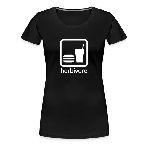 Food & Drink: Herbivore - Women's Premium T-Shirt