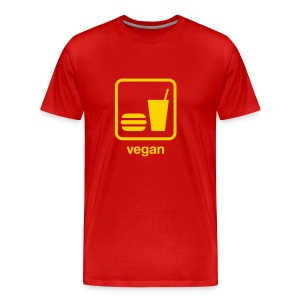 Food & Drink: Vegan - Men's Premium T-Shirt