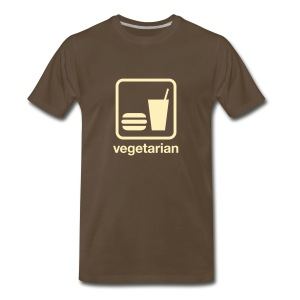 Food & Drink: Vegetarian - Men's Premium T-Shirt