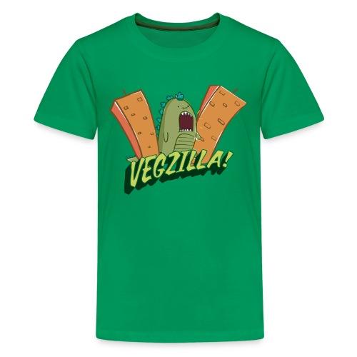 Vegzilla Logo Kid's Tee - Kids' Premium T-Shirt