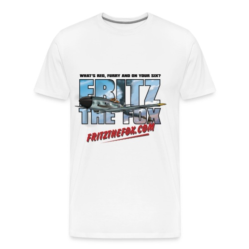 Fritz the Fox - Men's Premium T-Shirt