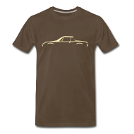 T-Shirts ~ Men's Premium T-Shirt ~ Brown beauty