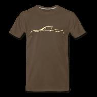 T-Shirts ~ Men's Premium T-Shirt ~ Brown beauty