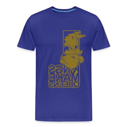 KQ-KMQ-Urban Gold Mirror - Men's Premium T-Shirt