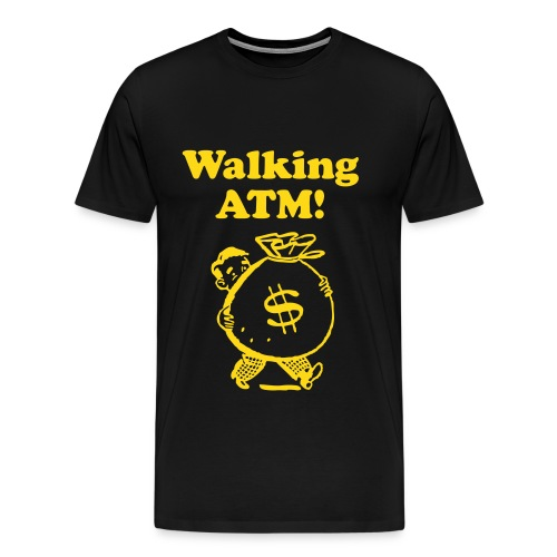 Walkin Bank - Men's Premium T-Shirt