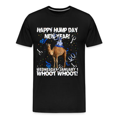 Happy Hump Day New Year 2014 Party Camel T-shirt