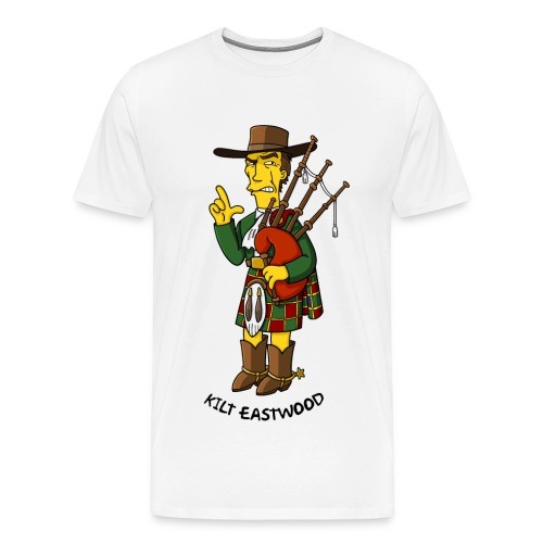 Kilt Eastwood - Guyz - Men's Premium T-Shirt