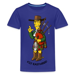 Kilt Eastwood - Kidz - Kids' Premium T-Shirt